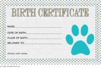 Stuffed Animal Birth Certificate Templates 7 Adorable regarding Free Toy Adoption Certificate Template