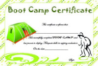 Summer Camp Certificate Templates 15 Templates To in Awesome Summer Camp Certificate Template