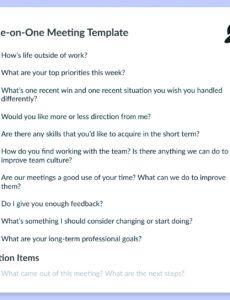 Supervisor Meeting Agenda Template for Amazing Ward Council Agenda Template