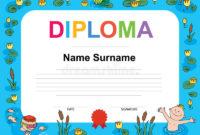 Swimming Award Certificate Template Illustration Stock with regard to Swimming Award Certificate Template