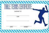 Table Tennis Certificate Templates Editable 10 Best Designs regarding Free Tennis Certificate Template
