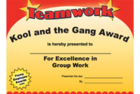 Teamwork Award  Funny Certificates  When It'S Time To regarding Bravery Certificate Template 10 Funny Ideas