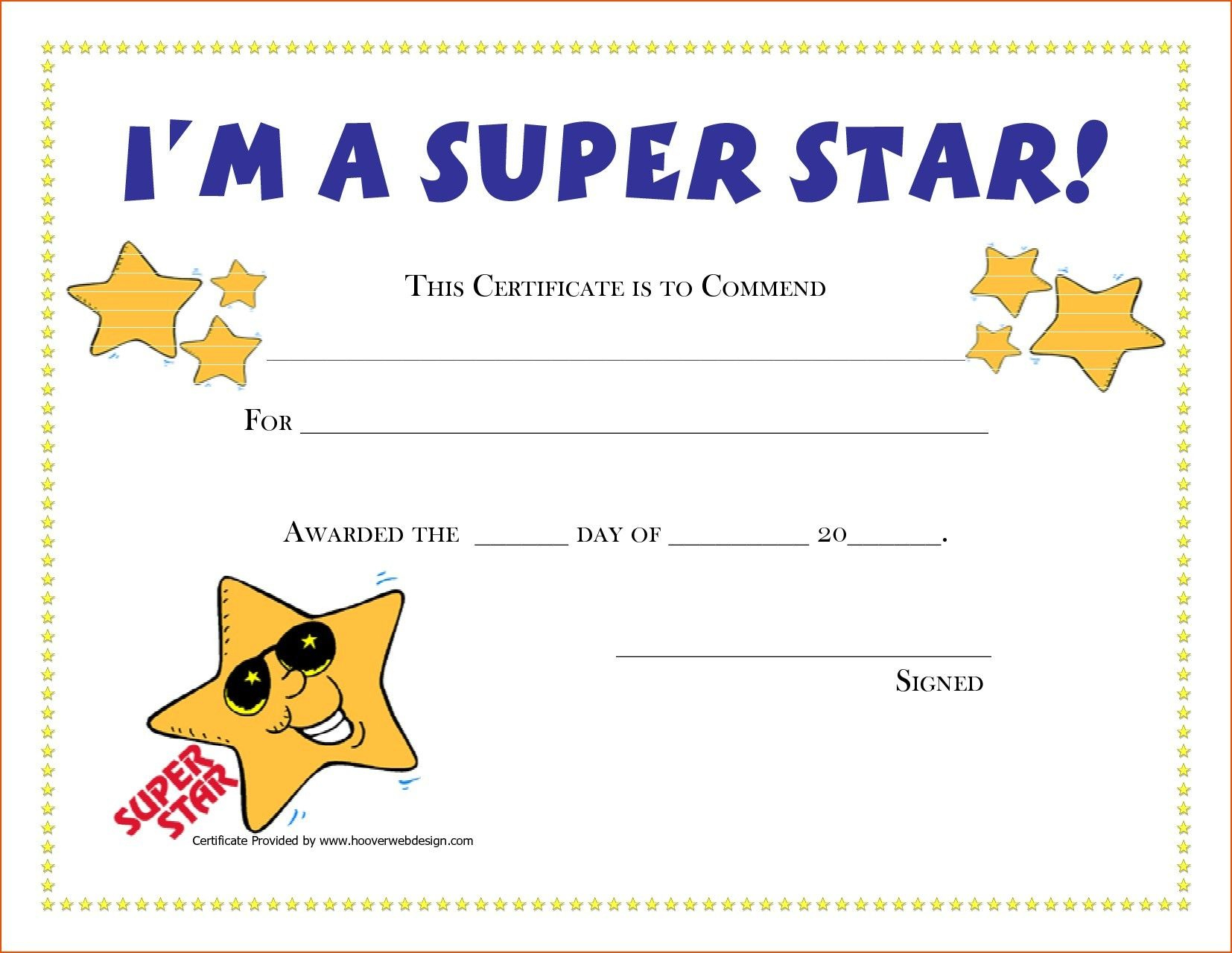 Template Certificate Blank Fresh Template Blank Award with Super Reader Certificate Template