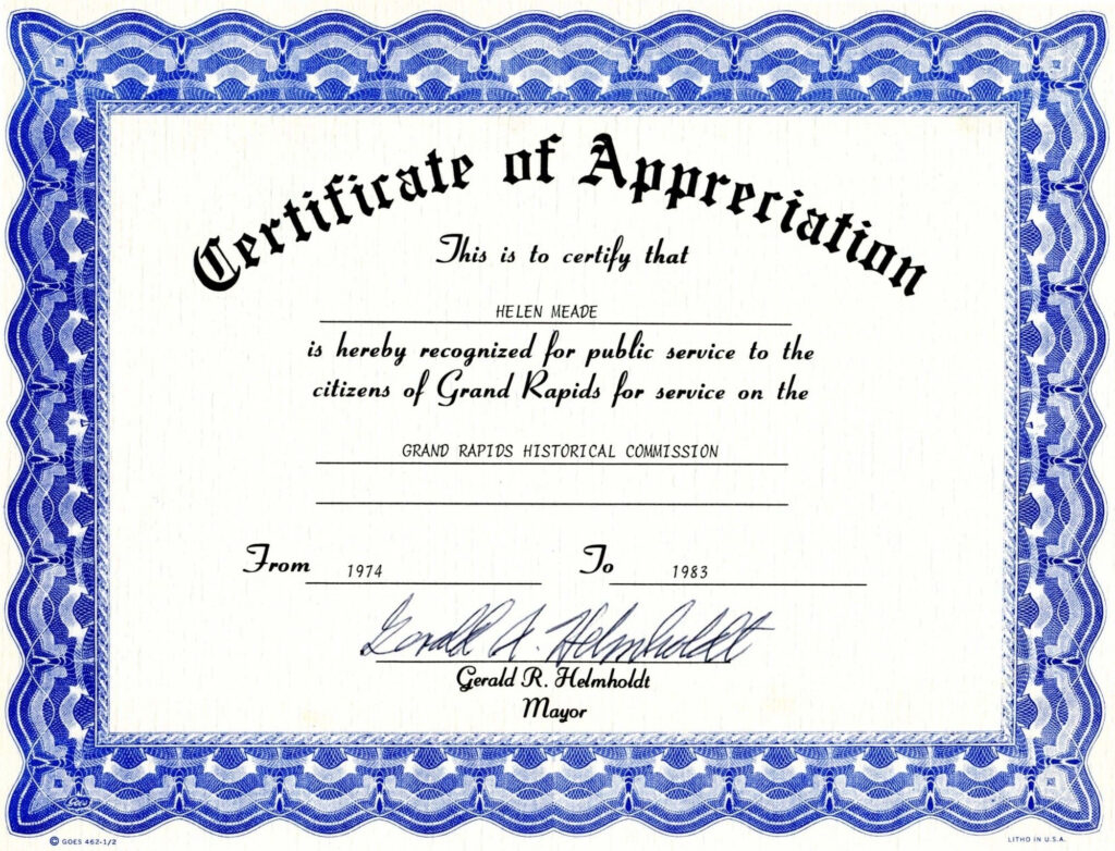 Template For Certificate Of Appreciation In Microsoft Word throughout Professional Certificate Templates For Word