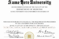 Template Ideas Print Fake Diploma Toreto Printable Free with regard to Doctorate Certificate Template
