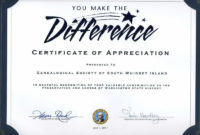 Thank You Certificates For Volunteers  Thiscertificate throughout Volunteer Certificate Template