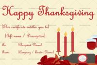 Thanksgiving Gift Certificate Template Dinner 5596 within Amazing Dinner Certificate Template Free