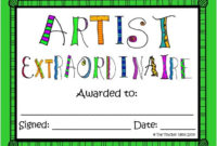The 25 Best Award Certificates Ideas On Pinterest  Free regarding Art Award Certificate Template