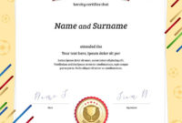 The Exciting Portrait Certificate Template In Football within Sports Day Certificate Templates Free
