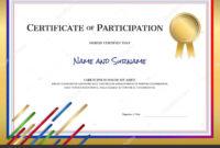 The Inspiring Sports Theme Border  Certificate Template inside Amazing Sports Day Certificate Templates