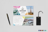 The Wonderful Travel Gift Certificate Template Within Gift with Best Gift Certificate Template Indesign
