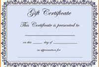 This Certificate Entitles The Bearer Template  Best inside Amazing This Entitles The Bearer To Template Certificate