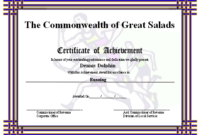 This Printable Certificate Of Achievement Has Runners In regarding Player Of The Day Certificate Template Free