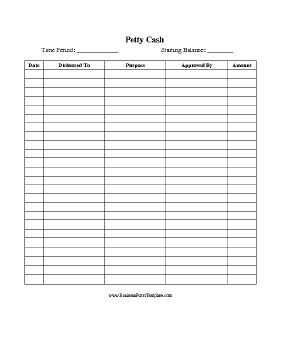 This Printable Form Is Designed To Keep Track Of All Petty for Construction Daily Work Log Template