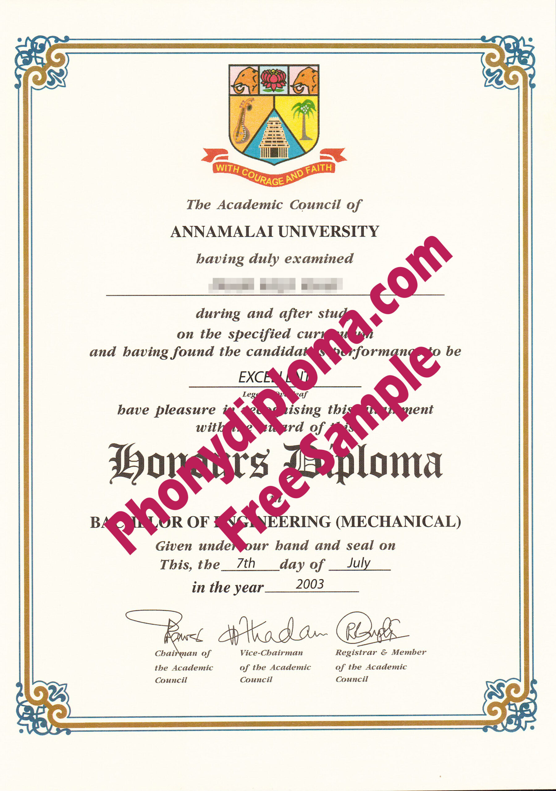Thousands Of Diploma Transcript Degree And Certificate with Amazing University Graduation Certificate Template