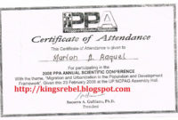 Tidbits And Bytes Example Of Certificate Of Attendance inside Conference Certificate Of Attendance Template