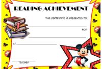 Top 10 Editable Reading Award Certificates Free in Reading Certificate Template Free
