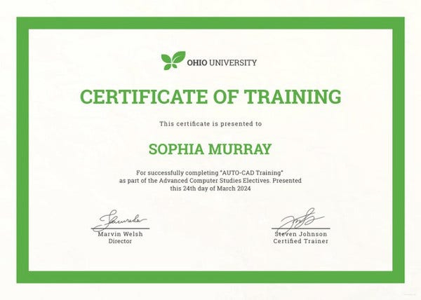 Training Certificate Template  27 Free Word Pdf Psd for Physical Fitness Certificate Template Editable