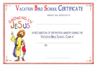 Vacation Bible School In 10 Easy Steps Using Sharefaith in Printable Vbs Certificates Free