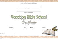 Vbs Certificate Template Free Lifeway Completion Attendance within Fishing Certificates Top 7 Template Designs 2019