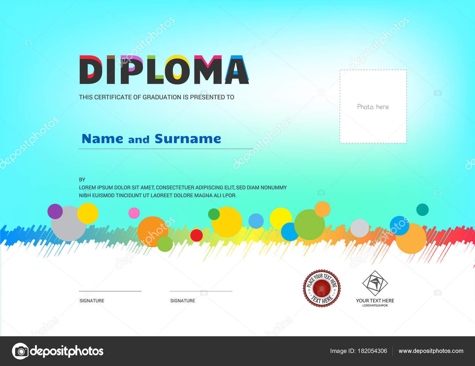 Vector Summer Camp Certificate  Kids Summer Camp Diploma intended for Best Certificate For Summer Camp Free Templates 2020