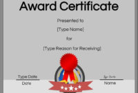 Volleyball Certificate Template Free Unique Free intended for Volleyball Award Certificate Template Free