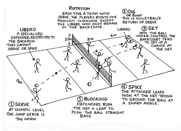 Volleyball Rules  Google Search  Volleyball Workouts with regard to Volleyball Tournament Certificate 8 Epic Template Ideas