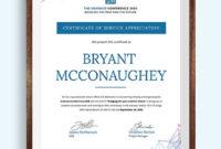 Volunteer Certificate Template  Word  Psd  Indesign for Volunteer Of The Year Certificate 10 Best Awards