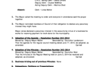 Ward Clerk Resume Responsibilities  Fill Out Online within Amazing Ward Council Agenda Template