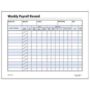 Weekly Employee Payroll Form  Google Search  Time Sheet inside Quality Work Hours Log Template