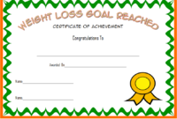 Weight Loss Certificate Template Free 8 New Designs regarding Amazing Most Likely To Certificate Template 9 Ideas