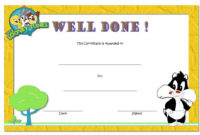 Well Done Certificate Template 8 Incredibly Designs intended for Printable Drama Certificate Template Free 10 Fresh Concepts