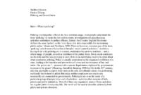 What Is Policing  University Social Studies  Marked regarding Free Social Studies Certificate