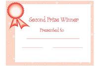 Winner Certificate Templates Free  Free Certificate inside Free Award Certificate Design Template