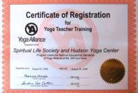 Yoga Certificate Template  Certificates Templates Free in Yoga Gift Certificate Template Free