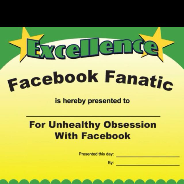 You Facebook Zombie  Funny Employee Awards Funny Office inside Quality Most Likely To Certificate Template Free
