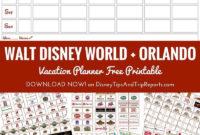 Blank Disney Itinerary Template  Calendar Template Printable for Disney World Itinerary Template