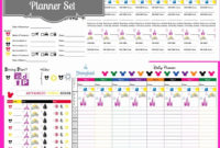 Downloadable Disney Itinerary Template  Calendar Template with Daily Vacation Itinerary Template