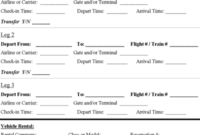 Travel Itinerary Template  Download Microsoft Word with Travel Agent Itinerary Template